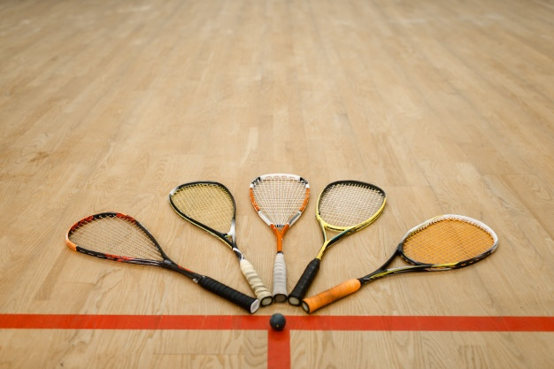 Squash Racquets and Ball