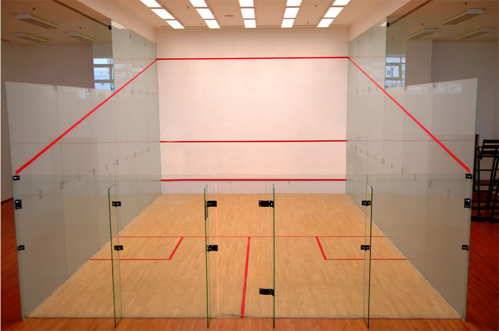 cost to build a squash court